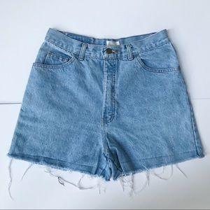 Vintage Moda International High Rise Cutoff Short